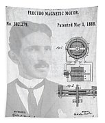 Tesla And The Electro Magnetic Motor Patent Tapestry