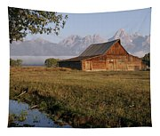 Teton Morning Magic Tapestry