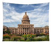 Texas State Capitol II Tapestry