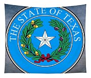 Texas State Seal Tapestry