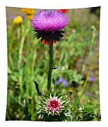 Texas Thistle Tapestry