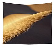 Texture Pattern On Sand Dunes Tapestry
