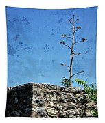Textured Ruins Tapestry
