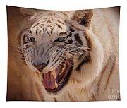 Textured Tiger Tapestry