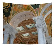 Great Hall Of The Library Of Congress Tapestry