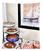 Thanksgiving Pies Tapestry