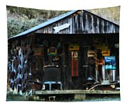 That Old Shack Tapestry