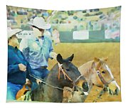 That Was A Good Steer Tapestry