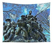 The 107th Infantry Memorial Sculpture Tapestry