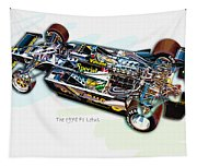 The 1978 F1 Lotus Tapestry