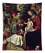 The Adoration Of The Magi, 1620 Oil On Canvas Tapestry