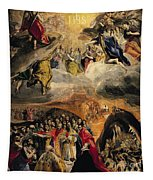 The Adoration Of The Name Of Jesus Tapestry