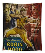 The Adventures Of Robin Hood  Tapestry