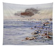 The Aftermath Of The Lusitania Tapestry