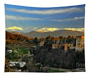 The Alhambra Palace Granada Spain Tapestry