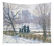 The Alice In Wonderland Statue, Central Park, New York Tapestry