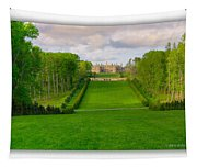 The Allee And The Castle Tapestry