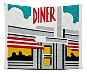 The American Diner  Tapestry