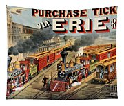 The American Railway Scene  Tapestry