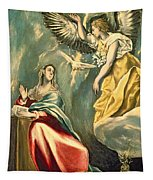 The Annunciation, C.1595-1600 Oil On Canvas Tapestry