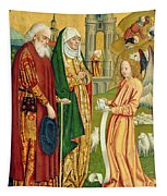 The Annunciation To Joachim And Anne, From The Dome Altar, 1499 Tapestry