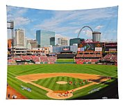 The Arch In The Outfield Tapestry