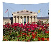 The Art Museum In Summer Tapestry