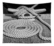 The Art Of Rope Lying Tapestry
