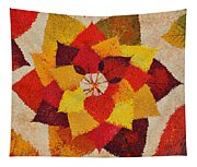The Artistry Of Fall Klimt Homage Tapestry