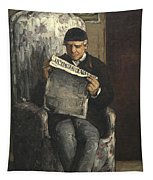 The Artists Father Reading L Evenement Tapestry