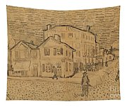 The Artists House In Arles Tapestry
