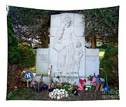 The Babe's Resting Place Tapestry