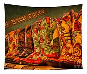 The Back Forty Boots Are Made For Dancin' Tapestry
