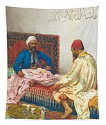 The Backgammon Players Tapestry