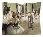 The Ballet Class Tapestry
