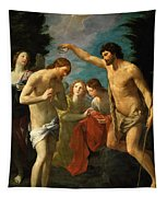 The Baptism Of Christ Tapestry