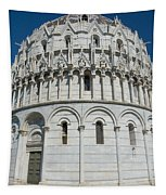 The Baptistery In Pisa  Tapestry