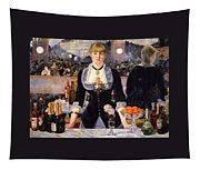 The Bar At The Folies-bergere Tapestry