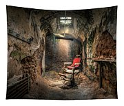 The Barber's Chair -the Demon Barber Tapestry