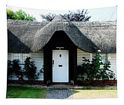 The Barn House Door Nether Wallop Tapestry