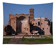 The Basilica Of Constantine Tapestry