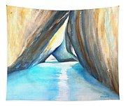 The Baths Azul Tapestry