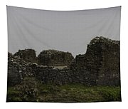 The Battered Remains Of The Urquhart Castle In Scotland Tapestry