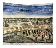 The Battle Of Concord, 1775 Tapestry