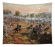 The Battle Of Gettysburg, July 1st-3rd Tapestry