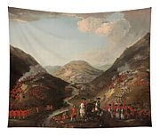The Battle Of Glen Shiel 1719 Tapestry