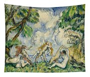 The Battle Of Love Tapestry