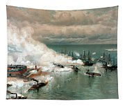 The Battle Of Mobile Bay Tapestry