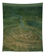 The Battle Of Senta, 11th September, 1697 At Which The Imperial Troops Of The Austrian Empire Tapestry