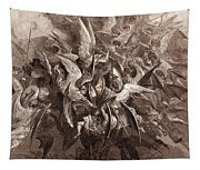 The Battle Of The Angels Tapestry